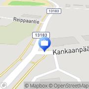 Kartta Pohjola Siikaisten palvelupiste Siikainen, Suomi