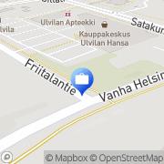 Kartta Pohjola Ulvilan palvelupiste Ulvila, Suomi
