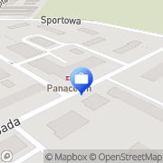 Mapa Bank Spółdzielczy. Filia nr 1 Kolno, Polska