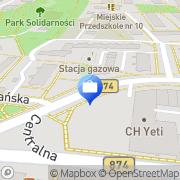 Mapa MultiBank. Bankomat Puławy, Polska