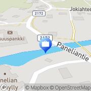 Kartta Otto. käteisautomaatti Panelia, Suomi