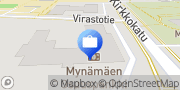 Kartta Mynämäen-Nousiaisten Osuuspankki Mynämäen konttori Mynämäki, Suomi