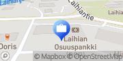 Kartta Laihian Osuuspankki Laihia, Suomi