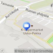 Kartta Otto. käteisautomaatti Naantali, Suomi