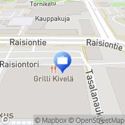Kartta Handelsbanken - Raisio Raisio, Suomi