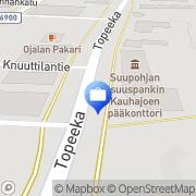 Kartta Otto. käteisautomaatti Kauhajoki, Suomi