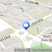 Mapa PKO Bank Polski. Bankomat Kraśnik, Polska