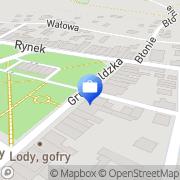 Mapa Bank Spółdzielczy w Stalowej Woli. Filia Rudnik, Polska