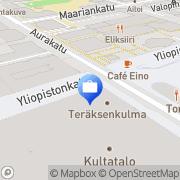 Kartta Sampo Pankki, Keskustan konttori Turku, Suomi