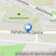 Kartta Tilitoimisto Marja-Leena Rönn Turku, Suomi