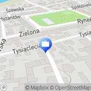 Mapa PKO Bank Polski. Bankomat Bełżyce, Polska