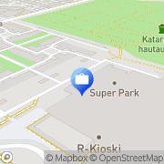Kartta Otto. käteisautomaatti Turku, Suomi