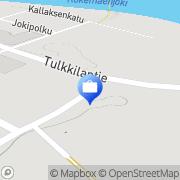 Kartta Pohjola Kokemäen palvelupiste Kokemäki, Suomi