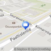 Kartta Pohjola Paattisten palvelupiste Paattinen, Suomi