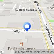 Kartta Nordea Lieto Lieto, Suomi
