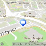 Mapa Towarzystwo Ubezpieczeń Wzajemnych Przemyśl, Polska