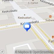 Kartta Fennia Seinäjoki, Suomi