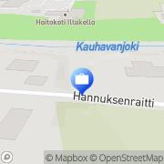Kartta Kumpucon Kauhava, Suomi