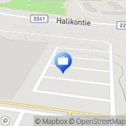 Kartta Otto. käteisautomaatti Halikko, Suomi