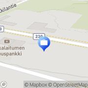 Kartta Pohjola Punkalaitumen palvelupiste Punkalaidun, Suomi