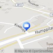 Kartta OP-Pohjola-ryhmä, Humppilan Osuuspankki Humppila, Suomi
