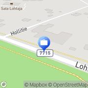 Kartta Pohjola Lohtajan palvelupiste Lohtaja, Suomi