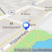 Kartta Fennia Forssa, Suomi