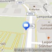 Kartta Pohjola Lempäälän palvelupiste Lempäälä, Suomi