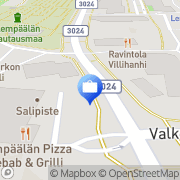 Kartta Otto. käteisautomaatti Lempäälä, Suomi