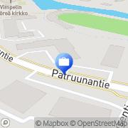 Kartta Pohjola Vimpelin palvelupiste Vimpeli, Suomi