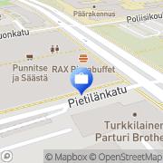 Kartta Otto. käteisautomaatti Tampere, Suomi