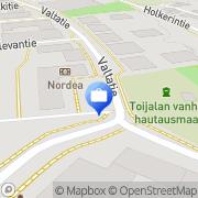 Kartta Otto. käteisautomaatti Toijala, Suomi