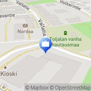 Kartta Lähivakuutus Akaa Toijala, Suomi