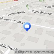 Kartta Paloturvallisuusasiantuntija S. Männikkö Tampere, Suomi