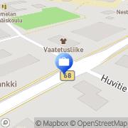 Kartta Oma Säästöpankki Oy Lehtimäen konttori Keskikylä, Suomi