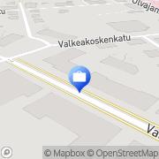 Kartta AOC-Perintä Valkeakoski, Suomi