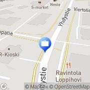 Kartta Pohjola Lopen palvelupiste Loppi, Suomi