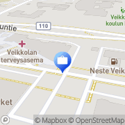 Kartta Pohjola Veikkolan palvelupiste Veikkola, Suomi