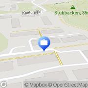 Kartta Pro-Excelsior Oy Kirkkonummi, Suomi