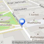 Kartta Tawastren Tmi Hämeenlinna, Suomi
