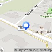 Kartta Pohjola Hauhon palvelupiste Hauho, Suomi