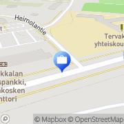 Kartta Otto. käteisautomaatti Tervakoski, Suomi