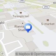 Kartta Otto. käteisautomaatti Turenki, Suomi