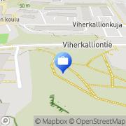 Kartta Tieliikennekonsultointi Soini M. Espoo, Suomi