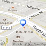 Kartta Otto. käteisautomaatti Klaukkala, Suomi