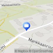 Kartta MPAvion Espoo, Suomi