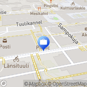 Kartta Ålandsbanken Abp Espoo, Suomi