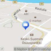 Kartta Pohjola Karstulan palvelupiste Karstula, Suomi