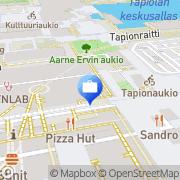 Kartta Nordea Espoo-Tapiola Espoo, Suomi