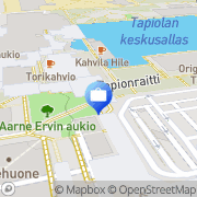 Kartta Fourton Rahastoyhtiö Oy Espoo, Suomi